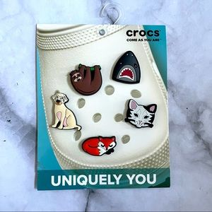 Crocs Jibbitz Charms Animal Lovers 5 pack